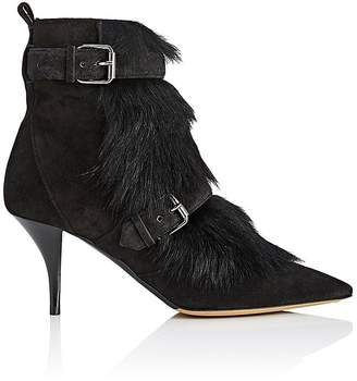 Tabitha Simmons Women's Zina Suede & Shearling Ankle Boots