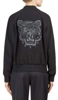 Kenzo Teddy Tiger Back Blouson Jacket