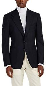 Tom Ford MEN'S BRUSHED WOOL TWILL TWO-BUTTON SPORTCOAT