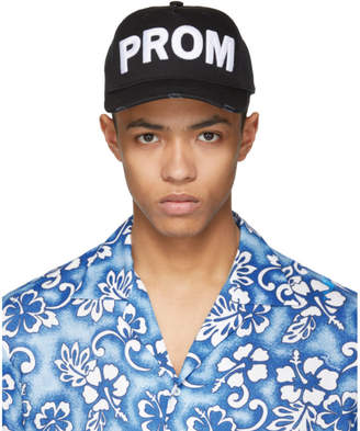 DSQUARED2 Black Prom Cap