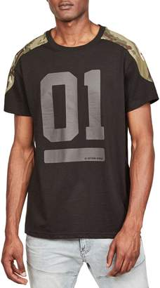 G Star Raw Graphic 18 Cotton Blend Tee