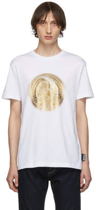 Versace White Greek Figure T-Shirt
