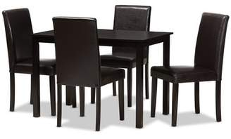 Red Barrel Studio Kingswood Modern and Contemporary 5 Piece Dining Set Red Barrel Studio