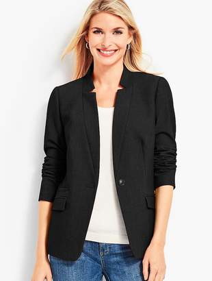 Talbots Notched-Collar Blazer