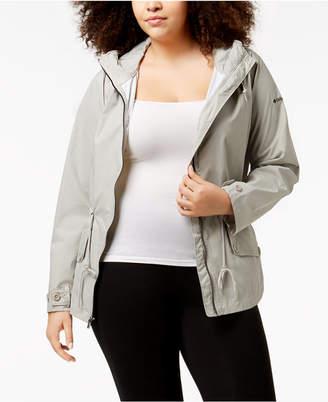 Columbia Plus Size Regretless Waterproof Jacket