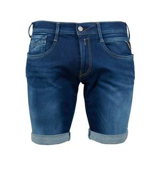 Replay Anbass Hyperflex Shorts Colour: Medium Wash, Size: 34