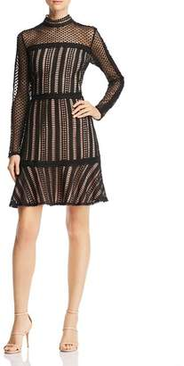 Adelyn Rae Lace Cocktail Dress