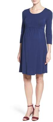 Tart Maternity 'Mathilde' Elbow Sleeve Maternity Dress