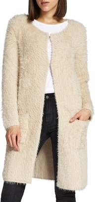 Sanctuary Faux Fur City Coat