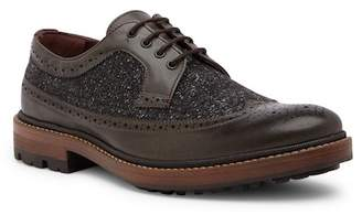 Ted Baker Casbo Leather & Wool Wingtip Derby