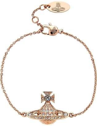 Vivienne Westwood Minnie Bas Relief Bracelet-Rose