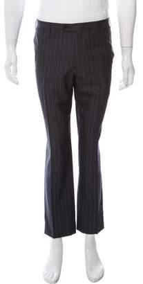 Corneliani Virgin Wool Pinstripe Pants
