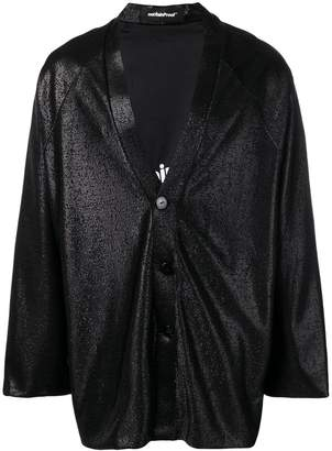 Styland metallic buttoned jacket