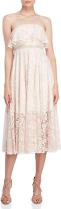 Jay Godfrey The Thomas Lace Midi Dress