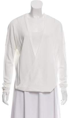 Barbara Bui Draped Knit Cardigan