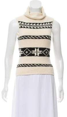 Ralph Lauren Sleeveless Turtleneck Sweater