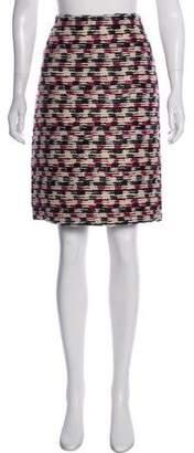 Derek Lam Textured Knee-Length Skirt