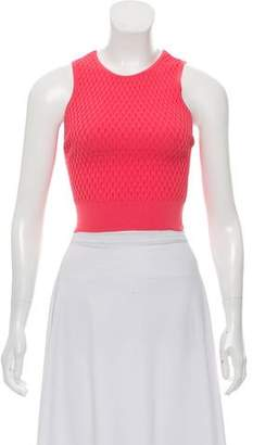 Jonathan Simkhai Scoop Neck Sleeveless Top