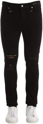RtA X Mastermind 17cm Mastermind Slim Printed Denim Jeans