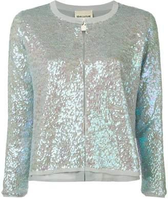 Semi-Couture Semicouture sequin cardigan