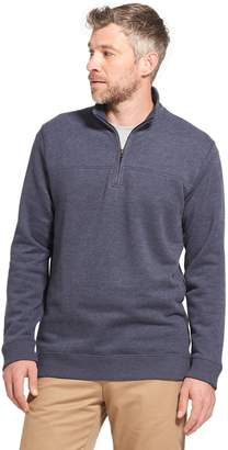 Arrow Men's Saranac Classic-Fit Fleece Quarter-Zip Pullover Sweater