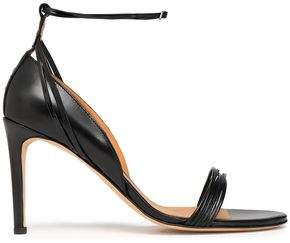 IRO Smooth And Patent-Leather Sandals