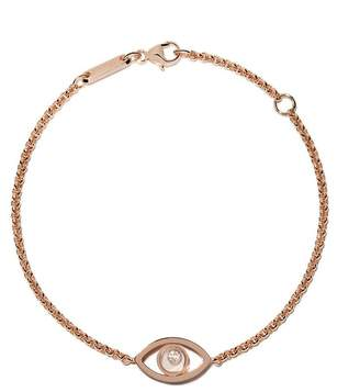Chopard 18kt rose gold Good Luck Charms diamond bracelet