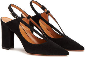 Aquatalia Hartley Waterproof Suede Pump