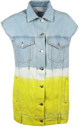 MSGM Two-Toned Sleeveless Jacket