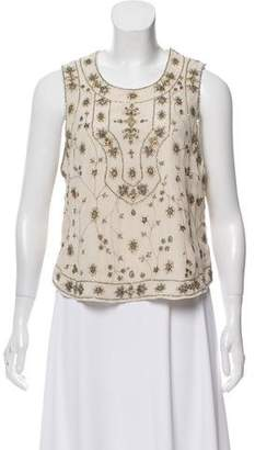 Haute Hippie Embellished Tank Top w/ Tags