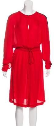 A.L.C. Long Sleeve Midi Dress