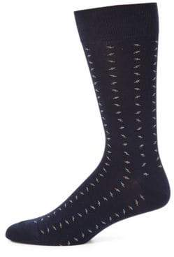 Saks Fifth Avenue COLLECTION Combed Cotton Blend Socks