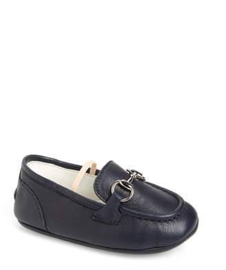 Gucci Jordaan Loafer Crib Shoe