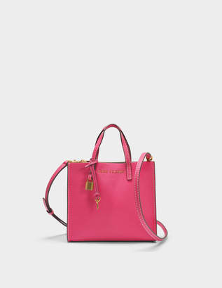 Marc Jacobs The Mini Grind Tote Bag in Hydrangea Cow Leather