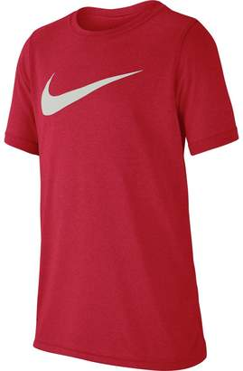 Nike Dri-Fit Training Swoosh T-Shirt - Boys'