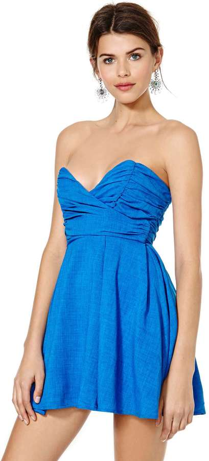Nasty Gal Sapphire and Vice Dress