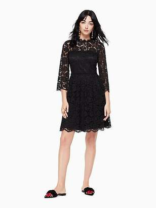 Kate Spade Poppy lace fit and flare dress