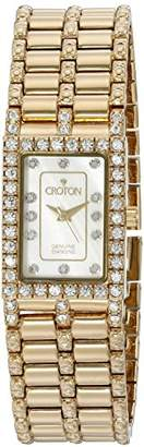Croton Women's CN207536YLMP Analog Display Quartz Gold Watch