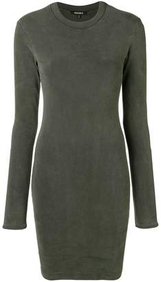 Yeezy longsleeved fitted dress