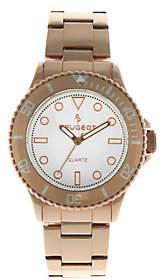 Peugeot Women's Rosetone Ratchet Bezel Watch
