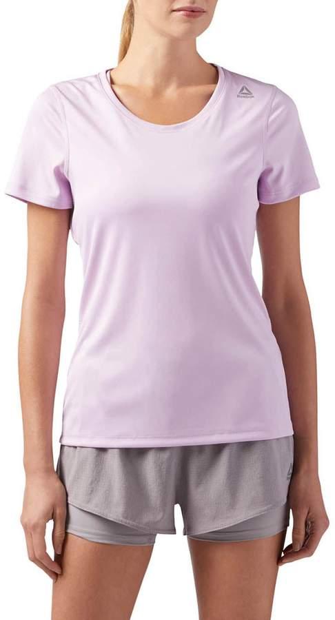 Reebok Performance Kurzärmeliges T-Shirt - rosa
