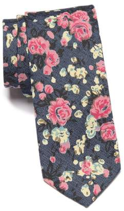 Original Penguin Lynch Floral Skinny Tie