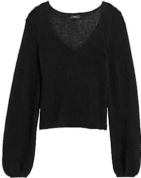Theory Women's Cashmere V-Neck Sweater