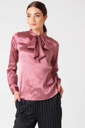 Rut & Circle Rut&Circle Maya Satin Shirt
