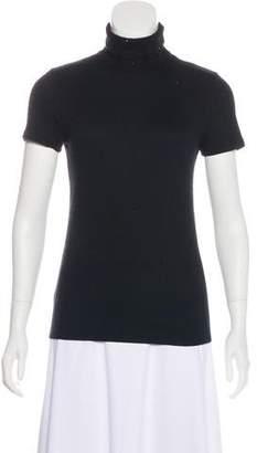 Brunello Cucinelli Embellished Short Sleeve Top