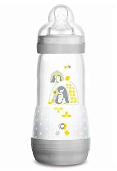 Mam Anti-Colic Bottle Easy Start with Orthodontic 0+ Months Debit 3for Unisex Grey 320ml