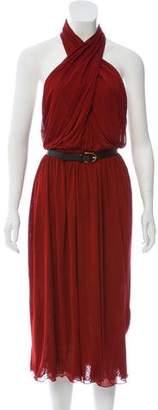 Gucci Halter Midi Dress w/ Tags