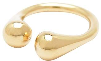 Wouters & Hendrix Wouters and Hendrix Yellow Gold Plated Sterling Silver Delicate Ring - Size L