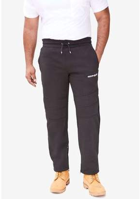 Rocawear Men's Imperial Clasic Fleece Pants, with Ankle Zippers