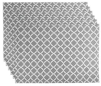 DII Lattice Cotton Placemat For Dinner Parties